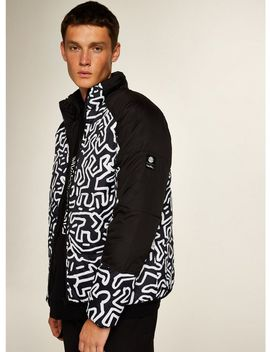 Element 'keith Haring' Puffer Jacket* by Topman