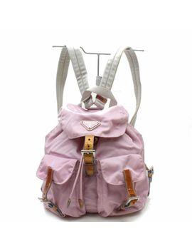 Authentic Prada Back Pack  Pinks Nylon 277462 by Prada