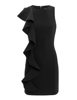 Kimberlin Ruffle Mini Dress by Cinq à Sept