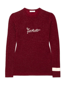 Forever Metallic Wool Blend Sweater by Bella Freud
