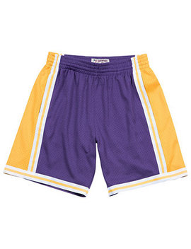 Men's Los Angeles Lakers Swingman Shorts by Mitchell & Ness