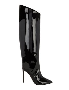 Alex Patent Leather Black Boots by Alexandre Vauthier