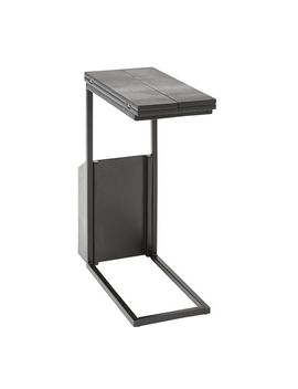 Black Flip Top Storage C Table by Pier1 Imports