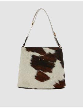 Sybil Calf Hair Bag by Trademark