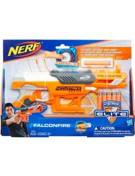 N Strike Elite Accu Strike Series Falcon Fire Blaster   Orange And Grey by Hasbro