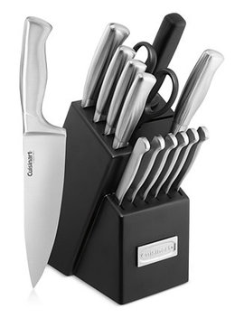 Classic Stainless Steel 15 Pc. Cutlery Set by Cuisinart