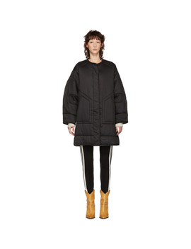 Black Nao Padded Jacket by Isabel Marant Etoile