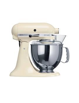 Ksm160 Artisan Tilt Head Stand Mixer In Almond Cream by Kitchen Aid