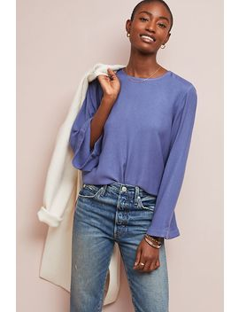 Cloth & Stone Bell Sleeved Top by Cloth & Stone