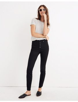 "Petite 10"" High Rise Skinny Jeans: Tulip Hem Edition by Madewell"
