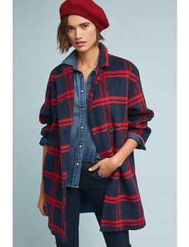 Dean Plaid Coat by Eva Franco