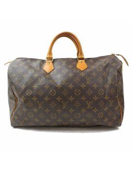 Authentic Louis Vuitton Hand Bag Speedy 40 M41522 Browns Monogram 319179 by Louis Vuitton