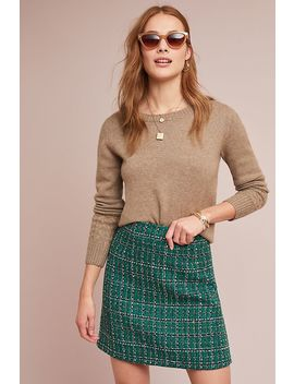 Windowpane Mini Skirt by Hutch
