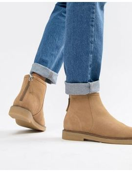 Vagabond Christy Warm Lining Suede Desert Ankle Boot by Vagabond