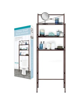 Three Shelf Space Saver, Bronze by Home Collections