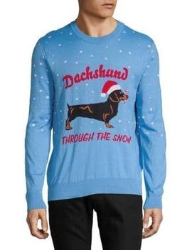 Dachshund Christmas Sweater by Topman