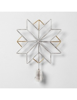 Tree Topper Star With Clip   Hearth & Hand™ With Magnolia by Shop Collections