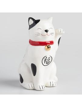 Lucky Cat Coin Bank by World Market