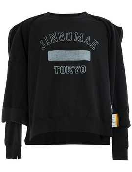 Layered Sweatshirt by Maison Mihara Yasuhiro