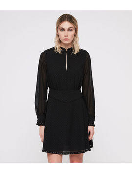 Kay Stud Dress by Allsaints