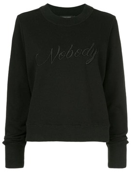 Embroidered Favourite Sweat King by Nobody Denim
