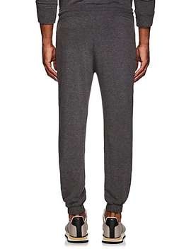 Cotton Fleece Moto Sweatpants by Barneys New York