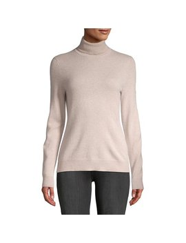 Essential Cashmere Turtleneck Sweater by Lord & Taylor