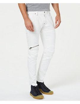 Men's 5620 Elwood 3 D Zip Knee Skinny Jeans by G Star Raw