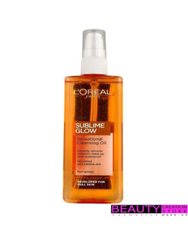 Loreal Sublime Glow Sensational Cleansing Oil 150ml Lr023 by L'oréal