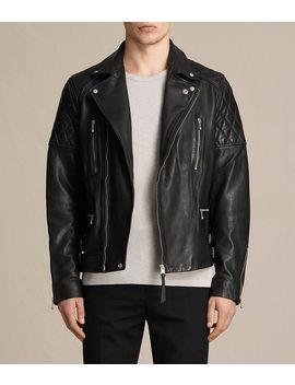Yuku Leather Biker Jacket by Allsaints