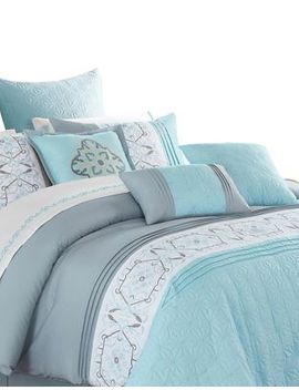 Alysha Seven Piece Comforter Set by Safdie & Co
