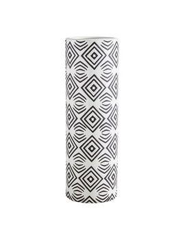 Black & White Diamonds Vase by Pier1 Imports