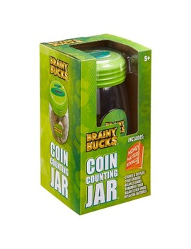 Brainy Bucks Coin Counting Jar by Brainy Bucks