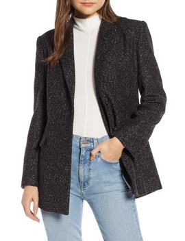 Bouclé Blazer by Something Navy