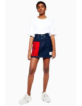 Mini Logo Skirt By Calvin Klein by Topshop