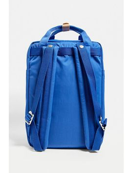 Doughnut Macaroon Blue Backpack by Doughnut