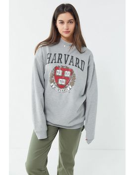 Harvard Mock Neck Pullover Sweatshirt by Urban Outfitters