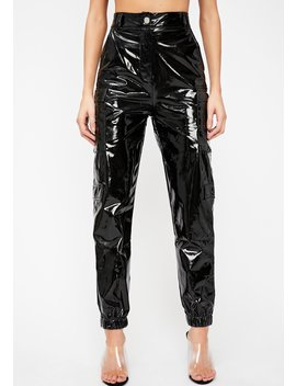 Sinister Motives Vinyl Pants by Hot Delicious