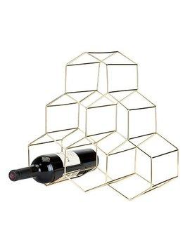 Viski Belmont™ Geomatric 6 Bottle Tabletop Wine Bottle Rack & Reviews by Viski