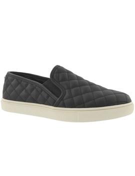 Women's Ecentrcq Black Casual Slip On Shoes by Steve Madden