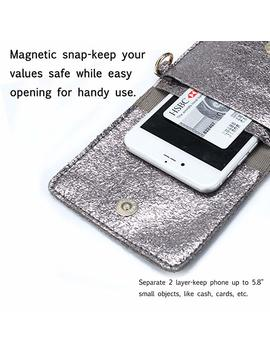 Se Osto Small Crossbody Bag, Cell Phone Purse Smartphone Wallet With 2 Shoulder Strap Handbag For Women by Se Osto