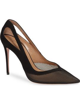 Cutout Mesh Pump by Aquazzura