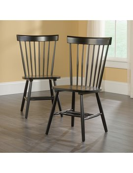 Sauder Woodworking New Grange Cottage Dining Chair   Set Of 2 by Hayneedle