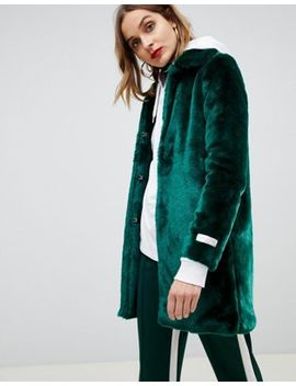 Gianni Feraud Faux Fur Coat by Coat