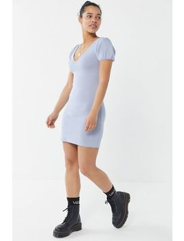 Uo Thea Sweaterknit Mini Dress by Urban Outfitters
