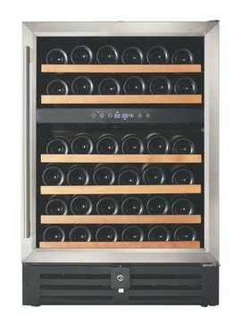 Smith & Hanks 46 Bottle Dual Zone Convertible Wine Cooler & Reviews by Smith & Hanks