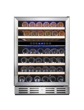 Kalamera 46 Bottle Dual Zone Convertible Wine Cooler & Reviews by Kalamera