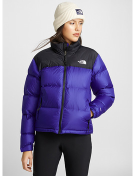 Colour Block Nuptse Jacket Relaxed Fit by The North Face