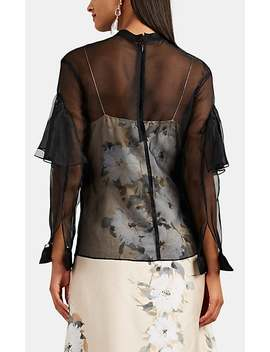 Sheer Silk Organza Blouse by By. Bonnie Young