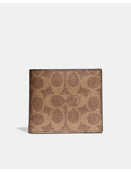 3 In 1 Wallet In Signature Canvas by Coach
